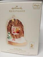 "Hallmark Keepsake ""2008"" Lucky Star Winnie the Pooh Collection Christmas Ornamen"
