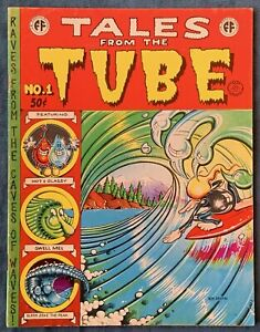 Tales From The Tube Underground Comix 1973 Rick Griffin Classic Comic