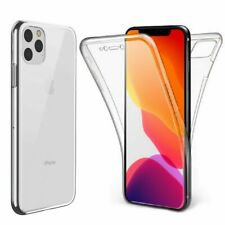 Front and Back Full Clear Gel Cover Skin Case For Apple iPhone 11 Pro Max 11 Pro