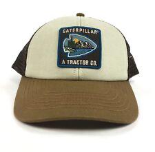 NEW One Size Caterpillar CAT Tracker Company Trucker Snapback Dad Hat