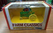 Vintage 1991 John Deere Model A 1/43 Scale Farm Classics Die Cast Tractor Ertl