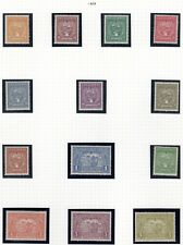 COLOMBIA - SCADTA - V ISSUE MINT SET - 1929 - COLLECTOR'S STUDY PAGE - $ 197+
