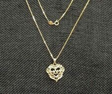 "Beautiful 14K Yellow Gold 24"" Chain w/  Mom Pendant 3.8gr 180665"