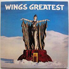 WINGS 'Wings Greatest' (PCTC 256) Vinyl LP Album. UK 1978 Pop Rock - EX/EX