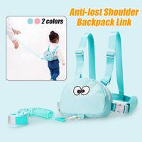 Baby Toddler Safety Harness Anti-lost Backpack Bag Children Shoulder Wrist Link