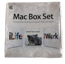 Apple Mac Box Set include MAC OS X SNOW LEOPARD iLIFE 09 iWork 09 MC209Z/A NUOVO