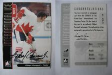 2006-07 ITG International Ice A-GP3 Gilbert Perreault  autograph  canada auto