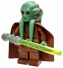 Lego Star Wars Kit Fisto Minifigure /& Lightsaber Accessory Set SW422 *RARE*