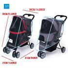 Outdoor Pet Cart Dog Cat Carrier Stroller Cover Stroller Rain Cover Cart Rain
