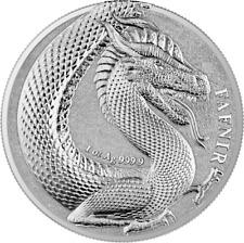 Germania Beasts Fafnir 2020 Silber 1 OZ Unze Silver 5 Mark Drache Nibelungen