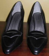 Adrienne Vittadini Black Womens Size 6 M High Heel Pumps Shoes