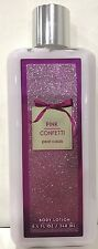 Pink Confetti Pear Cassis Bath and Body Works Body Lotion 8 oz