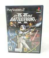 Star Wars: Battlefront II 2 Sony PlayStation 2 PS2 Game Black Label Complete CIB