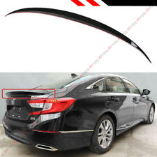 FOR 2018-2019 HONDA ACCORD JDM SPORT STYLE GLOSSY BLACK PEARL TRUNK LID SPOILER