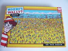 Where's Wally? On The Beach 250 Piece Jigsaw Puzzle JUNIOR EDITION new