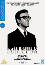 PETER SELLERS COLLECTION  - DVD - REGION 2 UK