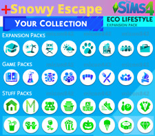 💎 SALE! The Sims 4 + ALL Expansions + ALL game & stuff packs + Snowy Escape 💎