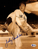 Reds Johnny Vander Meer Authentic Signed 8x10 Photo Autographed BAS 1