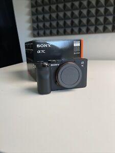 Sony Alpha a7C 24.2MP Mirrorless Camera - Black (Body Only) + Extras