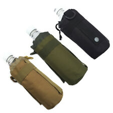 Outdoor Tactical Military Molle Water Bottle Bag Nylon Kettle Pouch Belt Holder