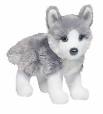 "Douglas Nikita HUSKY 8"" Plush Siberian Alaskan Dog Stuffed Animal Cuddle NEW"