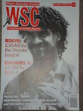 When Saturday Comes Football Magazine December 1992