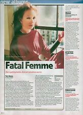 TORI AMOS To Venus And Back album review UK magazine ARTICLE / clipping
