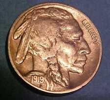 1919-S Buffalo Nickel ~Super-Sharp Gem Circulated ~Full Horn ~Rare ☆Make Offer☆