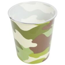 KIDS ARMY CAMOUFLAGE BIN WOODLAND DPM CAMO BEDROOM OFFICE DECOR BOYS MILITARY