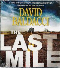 The Last Mile NEW David Baldacci ABRIDGED AUDIO BOOK 7 CDs Sealed #2 AMOS DECKER