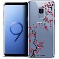 "Coque Crystal Gel Pour Samsung Galaxy S9 (5.8"") Souple Summer Sakura"