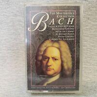 Johann Sebastian Bach The Masterpiece Collection Cobalt HQ V81393 Cassette Tape
