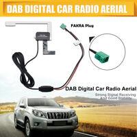 Universal Glass Mount Active DAB Digital Car Radio Aerial Antenna