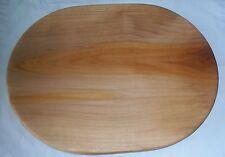 Handmade Sycamore Wood Oval Cutting Board