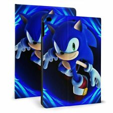 Sonic the Hedgehog Auto Sleep/Wake Smart Case 360 Rotate for iPad 7th Air 1/2/3