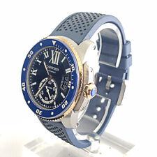 Blue Dial Rose Gold Ss Men's Watch New ListingCartier Calibre de Cartier 42mm Automatic