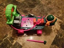 Vintage TMNT Teenage Mutant Ninja Turtles 1991 CHEAPSKATE II Vehicle hot pink