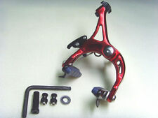 NEW  Super light Road Bike single speed bikes Brake Calipers Front / Red