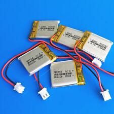 5 pcs 300mAh 3.7V Li polymer Battery Cells for MP3 MP4 Headset 402530 JST 2.5mm
