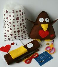 Child Sewing Craft Kit - Robin - Fab Christmas Gift for Kids!