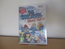 Nintendo Wii PAL version Smurfs Dance Party