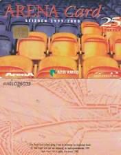 Arenakaart A029-02a 25 gulden: Stoeltjes 2002