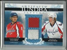 Alexander Ovechkin-Nicklas Backstrom 09/10 UD Artifacts Game Used Jersey #52/100