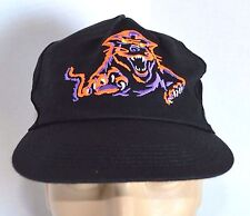 VTG Artic Cat Cats Pride 1996 Snapback Hat Snowmobile Baseball Cap Lid Black USA