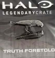 Halo Legendary Crate Exclusive Covenant Plasma Rifle Hat Lapel Backpback Pin