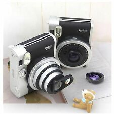 New 2IN 1 / SET Fujifilm Instax Mini 90 Camera Close-up Lens Self-shot Mirror