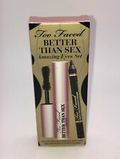 Too Faced Better Than Sex Amazing Eyes 2 Piece Set Mascara & Eyeliner BNIB