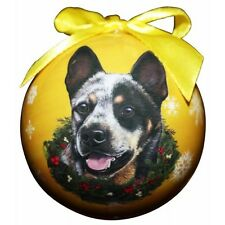 Australian Cattle Dog ~ Christmas Ball Ornament #90