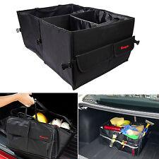 Black Car Trunk Cargo Organizer Foldable Collapsible Auto Storage Bag Folding