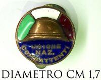 2659) Distintivo Unione Nazionale Combattenti Ia Guerra Mondiale modello Fassino